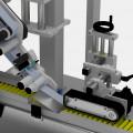 Etiketovací systém Alline H - detail pracovního místa