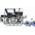 Etiketovací stroj rollfed Rolline - pohled shora