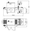 Schéma balicího stroje Altair 70 P